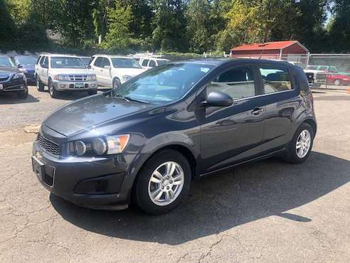 Chevrolet Sonic Lt Hatchback Used Automatic 45 A Week We Finance Chevy For Sale In Raleigh Nc Classiccarsbay Com