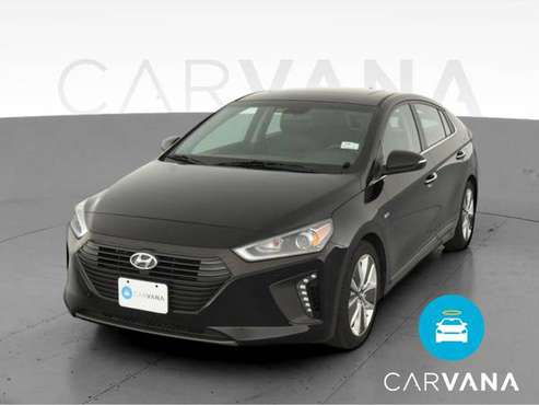 2018 Hyundai Ioniq Hybrid Limited Hatchback 4D hatchback Black - -... for sale in Long Beach, CA