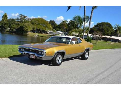 1972 Plymouth Satellite for sale in Clearwater, FL