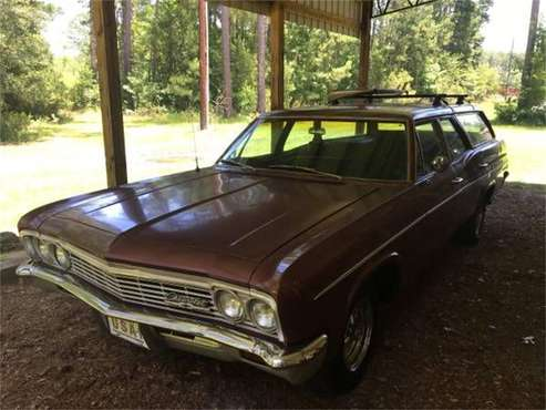 1966 Chevrolet Station Wagon for sale in Cadillac, MI