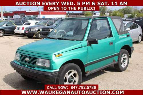 1994 *GEO* *TRACKER* GAS SAVER 1.6L I4 78K 1OWNER 909063 for sale in WAUKEGAN, IL