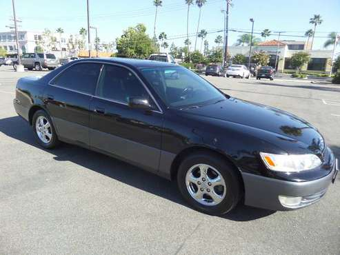 1997 Lexus ES300 2-own all records warranty cold a/c tires low miles for sale in Escondido, CA