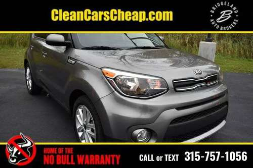 2019 Kia Soul black for sale in Watertown, NY