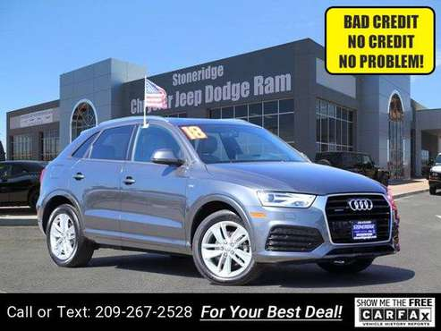 2018 Audi Q3 Premium Sport Utility suv Gray for sale in Pleasanton, CA