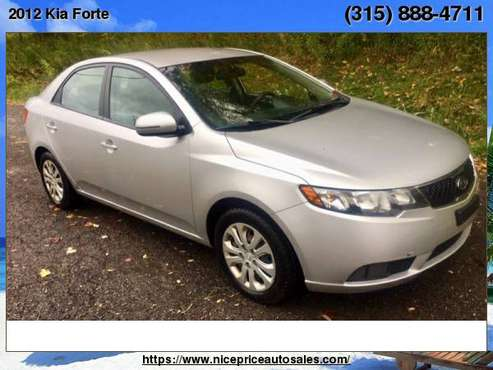 2012 Kia Forte 4dr Sdn Auto EX for sale in new haven, NY