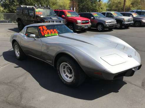 1978 RARE! 4 SPEED CORVETTE STINGRAY 25 ANNIVERSARY 67K SUPER CLEAN!! for sale in Medford, OR