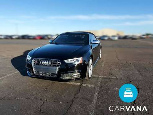 2014 Audi S5 Premium Plus Convertible 2D Convertible Black - FINANCE... for sale in Bakersfield, CA