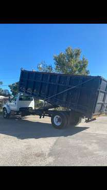 2009 FORD F-750 DUMP TRUCK - cars & trucks - by dealer - vehicle... for sale in Tampa, NC