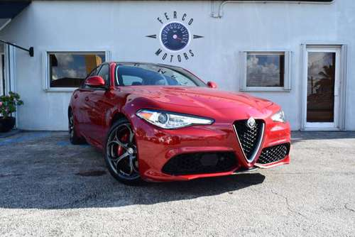 2017*ALFA* *ROMEO* FINANCE AVAILABLE DONT MATTER YOU CREDIT for sale in Miami, FL