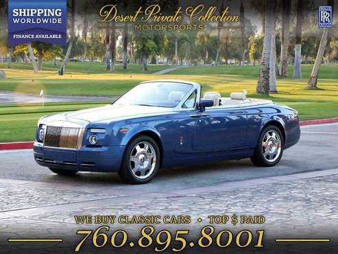 2008 Rolls-Royce Phantom Drophead Convertible 14k Miles Convertible - for sale in Palm Desert, NY