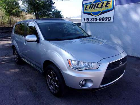 2010 Mitsubishi Outlander, GT, AWD, FUN DRIVE PLUS A BACK UP CAMERA! for sale in Colorado Springs, CO