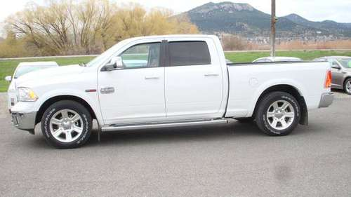 2015 Ram 1500 Crew Cab Longhorn 4X4 *3.0 Ecodiesel* for sale in Helena, MT