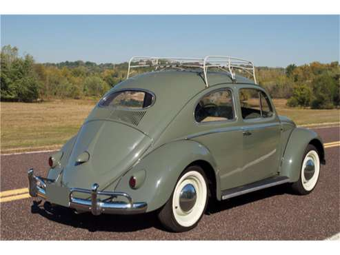 1957 Volkswagen Beetle for sale in Pebble Beach, CA