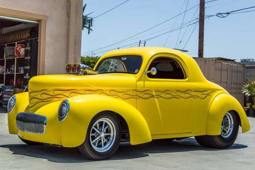 1941 Willys Coupe Pro Street for sale in HARBOR CITY, CA