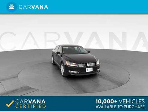 2014 VW Volkswagen Passat TDI SE Sedan 4D sedan BLACK - FINANCE ONLINE for sale in Atlanta, GA