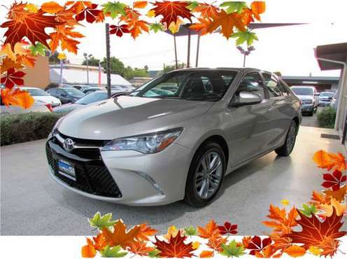 2017 Toyota Camry SE Sedan 4D Easy Financing, All Applications... for sale in Anaheim, CA