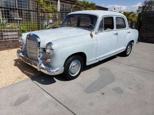 RARE 1960 MERCEDES BENZ 190D! VIDEO 2! for sale in Redwood City, CA