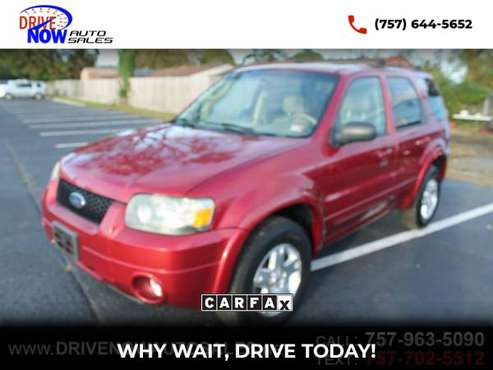 2007 Ford Escape Limited 4WD !PRICED TO SELL TODAY! - cars &... for sale in Norfolk, VA