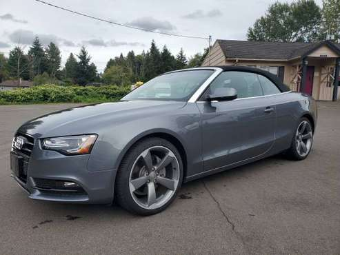 2014 Audi A5 Cabriolet quattro 2.0T Premium Plus COUPE CONVERTIBLE!!!! for sale in Seattle, WA