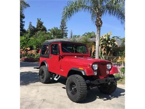 1984 Jeep CJ7 for sale in Visalia, CA