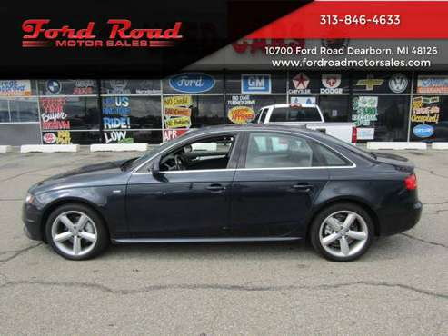 2012 Audi A4 2.0T quattro Premium Plus AWD 4dr Sedan 8A WITH TWO... for sale in Dearborn, MI