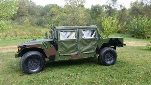 1993 M998 Humvee 4 door soft top for sale in fredericktown, OH