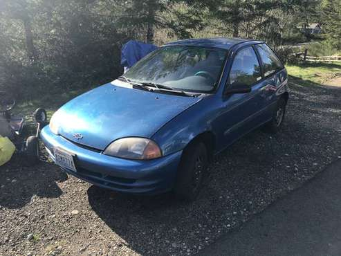 2000 GEO METRO for sale in Port Orchard, WA