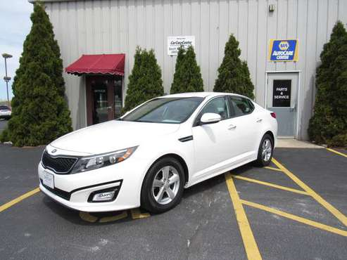 2015 Kia Optima LX Excellent Used Car For Sale for sale in Sheboygan Falls, WI