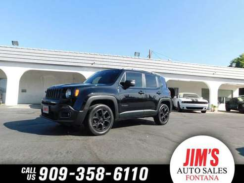 2016 Jeep Renegade 1-OWNER LIMITED SPORT 4X4 DUAL SKY PANEL ROOF* NAVI for sale in Fontana, CA