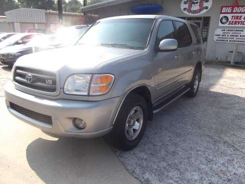 2002 Toyota Sequoia SR5 Sport Utility - Warranty - Financing Available for sale in ATHENS GA, GA