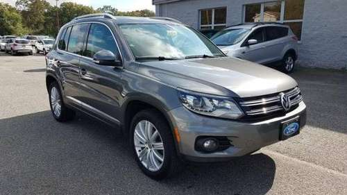 2016 VOLKSWAGEN Tiguan 4D Crossover SUV for sale in Patchogue, NY