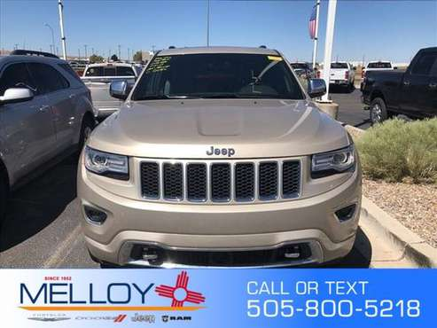 2015 Jeep Grand Cherokee Overland for sale in Los Lunas, NM