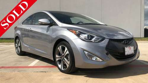 2014 Hyundai Elantra Coupe - Super Savings!! for sale in Granbury, TX