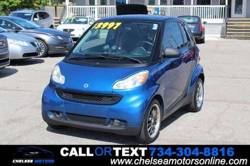 2008 Smart fortwo pure 2dr Hatchback for sale in Chelsea, MI