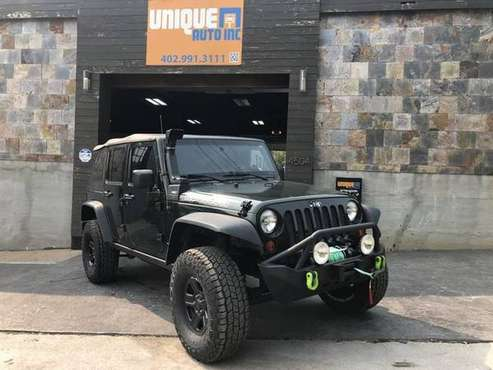2010 Jeep Wrangler Unlimited Rubicon Sport Utility 4D - cars &... for sale in Omaha, NE