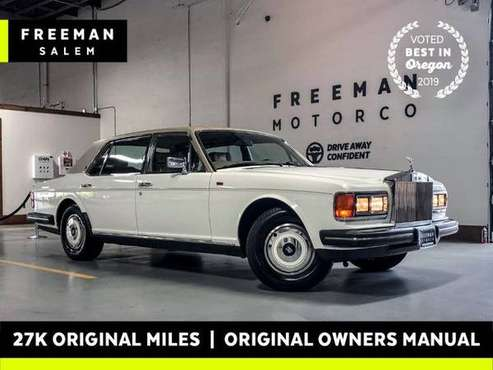 1986 Rolls-Royce SILVER SPUR 27K Miles Sedan for sale in Salem, OR