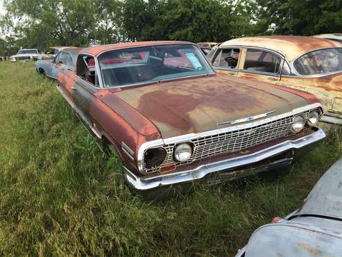 1963 Chevrolet Impala SS for sale in Midlothian, TX
