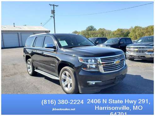 2015 Chevrolet Tahoe 4WD LTZ Sport Utility 4D Trades Welcome Financing for sale in Harrisonville, MO