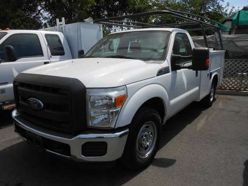 2013 Ford F-250 Utility Truck! LOW MILES! for sale in Oakdale, CA