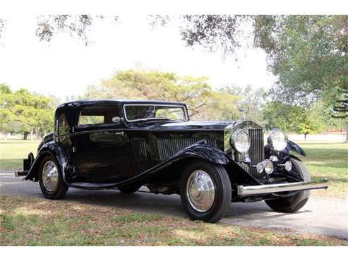 1933 Rolls-Royce Phantom II for sale in North Miami , FL