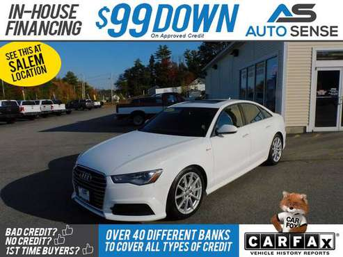 2017 Audi A6 3.0T Premium Plus - BAD CREDIT OK! - cars & trucks - by... for sale in Salem, ME