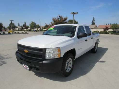 2013 CHEVROLET SILVERADO 1500 CREW CAB PICKUP 4WD**65K MILES** for sale in Oakdale, CA