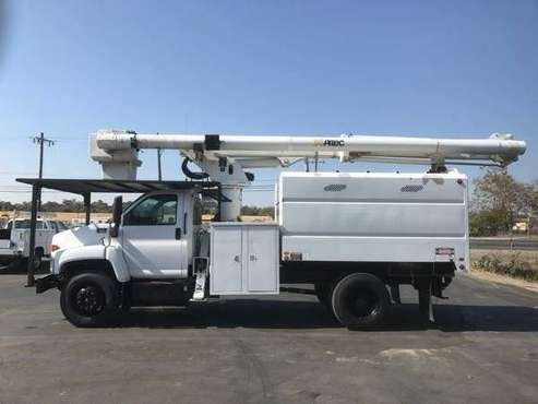 2008 GMC C7500 Forestry Bucket Truck, for sale in Central Point, CA