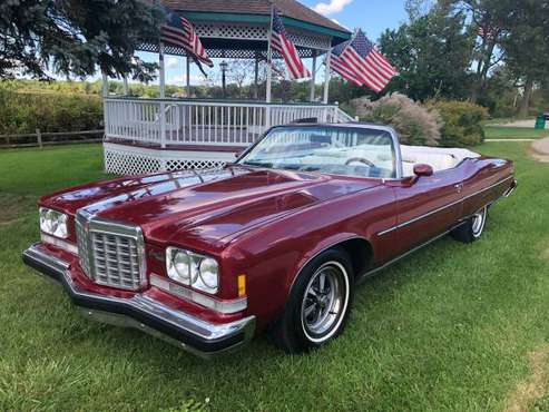 "1974 Pontiac Grand Ville "" Grandville "" Convertible for sale in Holly, MI"