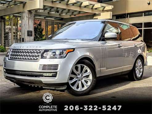 2016 Land Rover Range Rover for sale in Seattle, WA