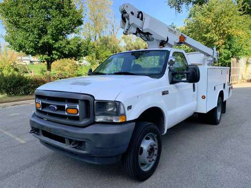 2004 Ford F450 XL Super Duty Dually 35' Altec Bucket Truck....LOOK! for sale in Dundee, MI