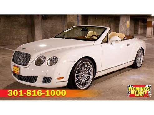 2010 Bentley Continental for sale in Rockville, MD