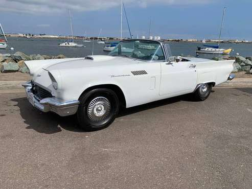 1957 FORD THUNDERBIRD CONVERTIBLE Antique Classic Car T-Bird for sale in National City, CA