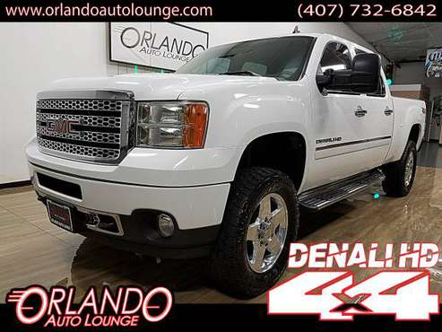 2012 GMC Sierra 2500HD Crew Cab Denali Pickup 4D 6 1/2 ft Z71 4WD for sale in Sanford, FL