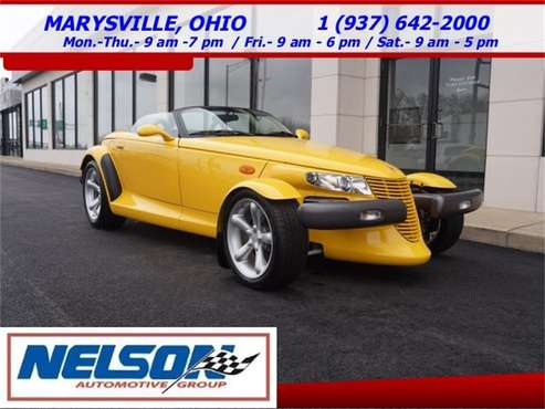 1999 Plymouth Prowler for sale in Marysville, OH